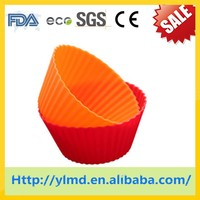Silicone muffin baking cup&homemade muffin cups&square muffin cups/cup cake holders