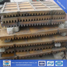 Hot Sale Casting Spares Fixed Jaw Crusher Toggle Plate,Cast Iron Hot Plate