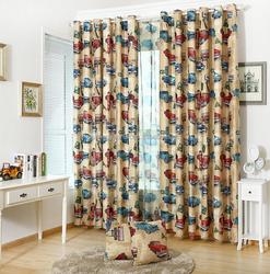 Nordic children bedroom window curtains Bedroom sound insulation curtain car curtain