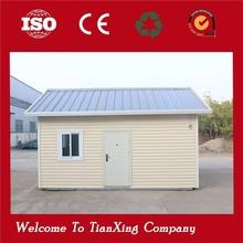 fireproof modular galvanized prefab house fiber cement siding