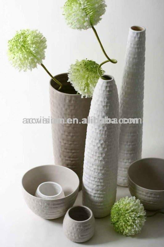 contemporain vases de sol grande d coration vases de sol grande poterie vases vases en. Black Bedroom Furniture Sets. Home Design Ideas