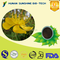 SunShine 2015 healthcare products St. John's Wort P.E. Powder for reduces swelling & Promotion of lactation & sleepless remedy