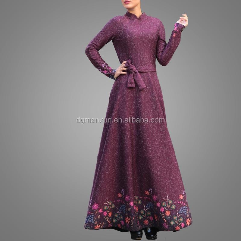 2017 flower pattern abaya south indian sexy girls long dress picture new burqa designs in dubai pho (6).jpg