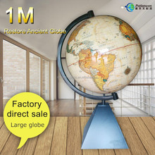 Home decorative 1m world globe map