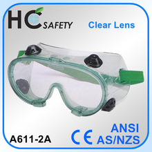ce en 166 surgical anti fog dust protection eye shield safety goggles
