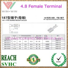 Factory Price 4.8 female Terminal