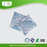 Cosmetic grade quicklime desiccant for cell phone