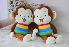 Monkey Type and Plush Material monkey toy plush stuffy toy
