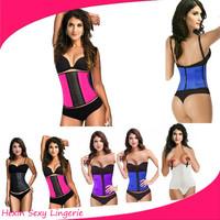Drop shipping latex waist 3XL corset body shaper