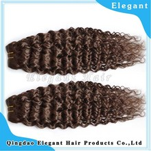 70 300g Excellent Malaysian Virgin Hair and Human Hair Material Silky Regular Wave Machine Weft