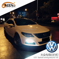 DC12V Waterproof High Power Aftermarket Led Daytime Running Lights/Auto Led DRL for VW CC 2014
