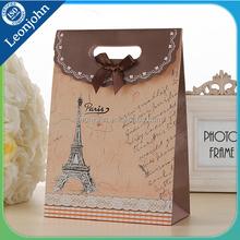 Bolso <span class=keywords><strong>de</strong></span> la navidad torre Eiffel bolso del regalo del arte