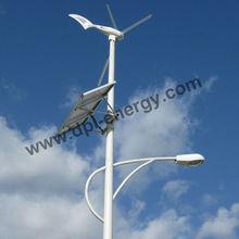 Sistema de la rejilla de la turbina eólica horizontal 600w, turbina de viento del alternador de imanes permanentes