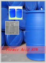 Formic Acid 85% packing Min 25kgs Drum and IBC Drum