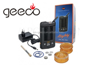 Geeco Electronic Cigarettes Portable Dry Herbal Vaporizer Mighty Vaporizer Wholesale Price With Kayfun Monster V3 Rda In Stock