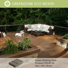 Convenient installation, high quality environmental protection, moistureproof, wood plastic composite floor boards decking