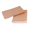 A6 kraft paper notebook cheap exercise book with saddle stitching