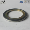 customized spiral wound gasket for pressure vessel with inner&outer ring 316L SS with graphite