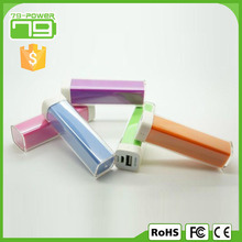 Small and compact promotional portable mobile power bank 2800mah