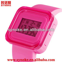 Best-selling an popular jelly silicon unisex watch