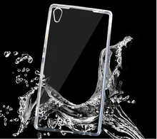 Ultra-thin crystal clear Transparent TPU Gel Soft Case Cover For Sony Xperia Z1 Z2 Z3 Z4 M4 M2 C3 C4 E3 E4 E8 T2 T3 Compact mini