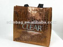 2012 golden crocodile pp nonwoven shopping bag