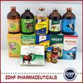 medicina de la vaca 50ml dexametasona fosfato de inyección para el ganado lechero