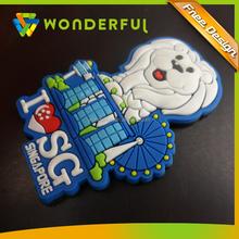 Custom Any Logo Any Size Promotional Gift Eco-friendly Cheap Soft Rubber Powerful Magnetic Sheet Animal Fridge Magnet