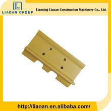 china best quality steel bulldozer spare parts D85E track pad bulldozer track shoe D85E track pad for komatsu
