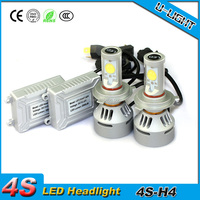 DC12V 35w high lumen 3500lm per bulb 4s led headlight kit h4 led car headlight hi lo beam with color changeable