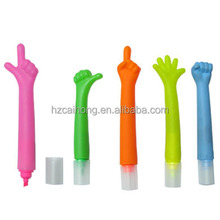 CH-6251hand finger ball pen & cute ball pen,promotional pen(the shape of the hat is finger, means good)