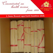 2015 factory direct round bamboo stick for incense machine and hand made