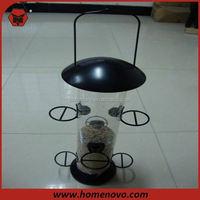 solar light bird feeder