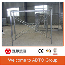 Galvanized Scaffolding Shoring Frame Systems for sale