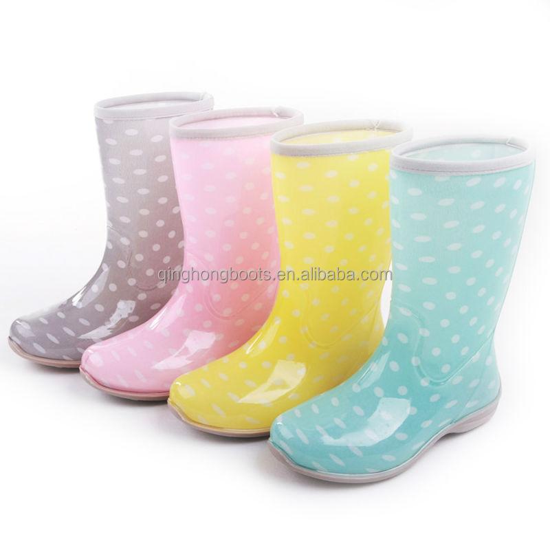 botas de plastico para niñas