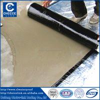China supplier self adhesive waterproof bitumen felt