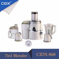 450-500W mixer food machine blender 7 in 1 A868