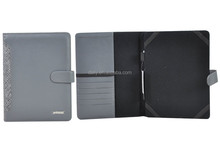 2016 Hot-selling! PU Leather portfolio, A4 portfolio for ipad/tablet, leather portfolio case made in china