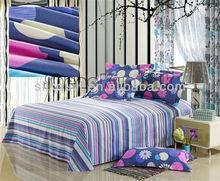 King Size Printed Cotton&Polyester Duvet Cover Sets/Bed Sheet Sets