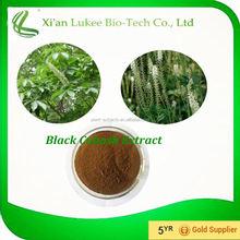 Black Cohosh P.E. Organic Black Cohosh Extract Triterpene Glycosides 2.5%/5%