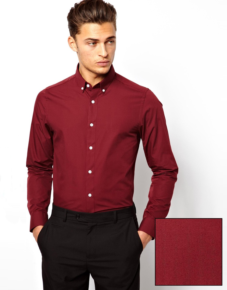 Red Dress Shirts For Men Cocktail Dresses 2016