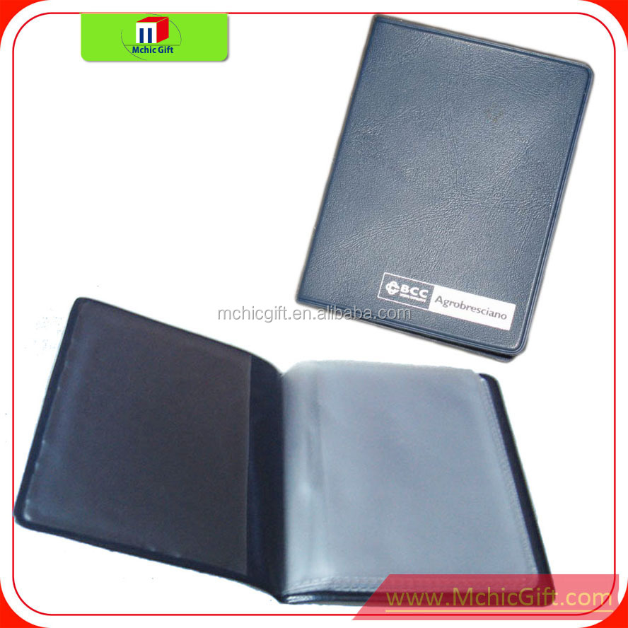 Custom cheap plastic wholesale business card holders business card mchicgift vinyl card holder 122g colourmoves