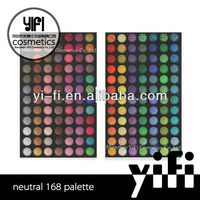 Wholesale!168 eye shadow palette eyeshadow shiner