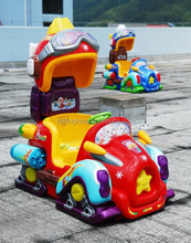 Outdoor Coin operated kiddie rides