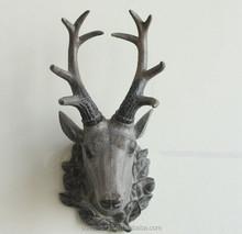 American high quality resin deer head wall decoration
