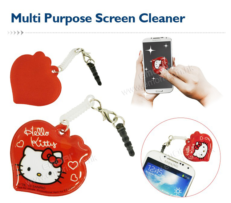 Microfiber Sticky Smartphone Screen Cleaner