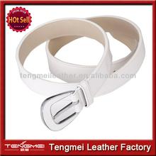 Leather female recreational black pin clasp wide belt strap adornment utility belt
