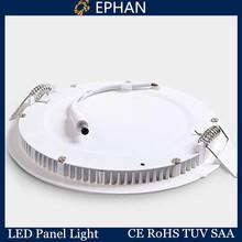 Ephan high brightness ultrathin led round panel 18W 225mm