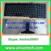 laptop Russion keyboard for L581 L583 L582 P300 L585 L586 Russion laptop repairment keyboards US AR RU version