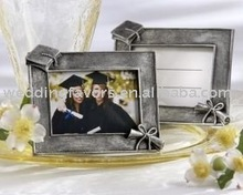 """Graduations"" Antique-Finish Photo Frame/Place Card Holder"